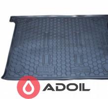 Коврик в багажник пластиковый Fiat Doblo корот. база без сетки 2001-