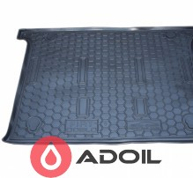 Коврик в багажник пластиковый Fiat Doblo корот. база 5 мест 2010-