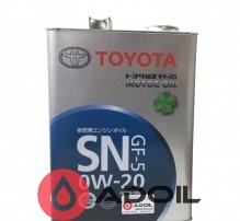 Toyota Motor Oil Sn 0w-20 08880-10505