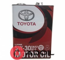Toyota Motor Oil 5w-30