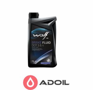 Wolf Brake Fluid Dot 3/4