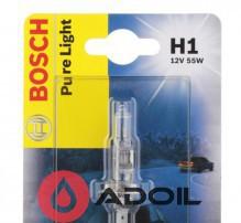 Автолампа H1 12V/55W/P14.5s Bosch