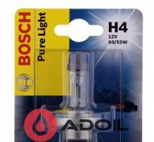 Автолампа H4 12V/60/55W/P43t Bosch