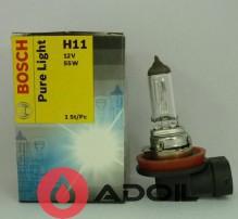 Автолампа H11 12V/55W/PGJ19-2 Bosch
