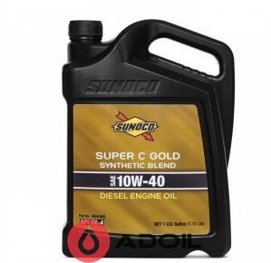 Sunoco Super C Gold Syn-Blend Sae 10w-40