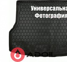 Коврик в багажник пластиковый Renault Kangoo пассажир. корот. база без ушей 2010-